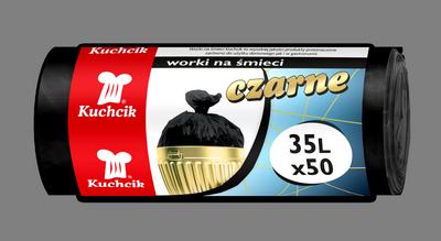 Мешок HDPE 35л/50шт